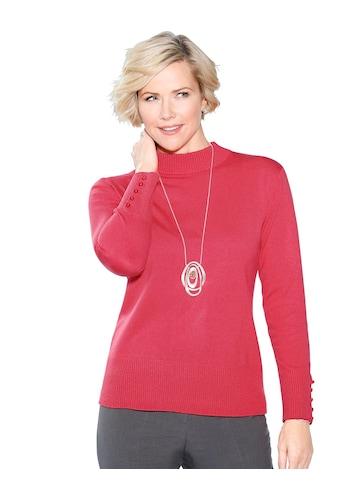 Classic Pullover in leicht glänzender Optik kaufen