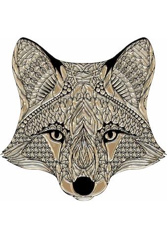 Wall-Art Wandtattoo »Metallic Fox« kaufen