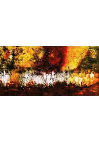 my home Gemälde »Abatract II«, (100/3,5/50 cm) kaufen