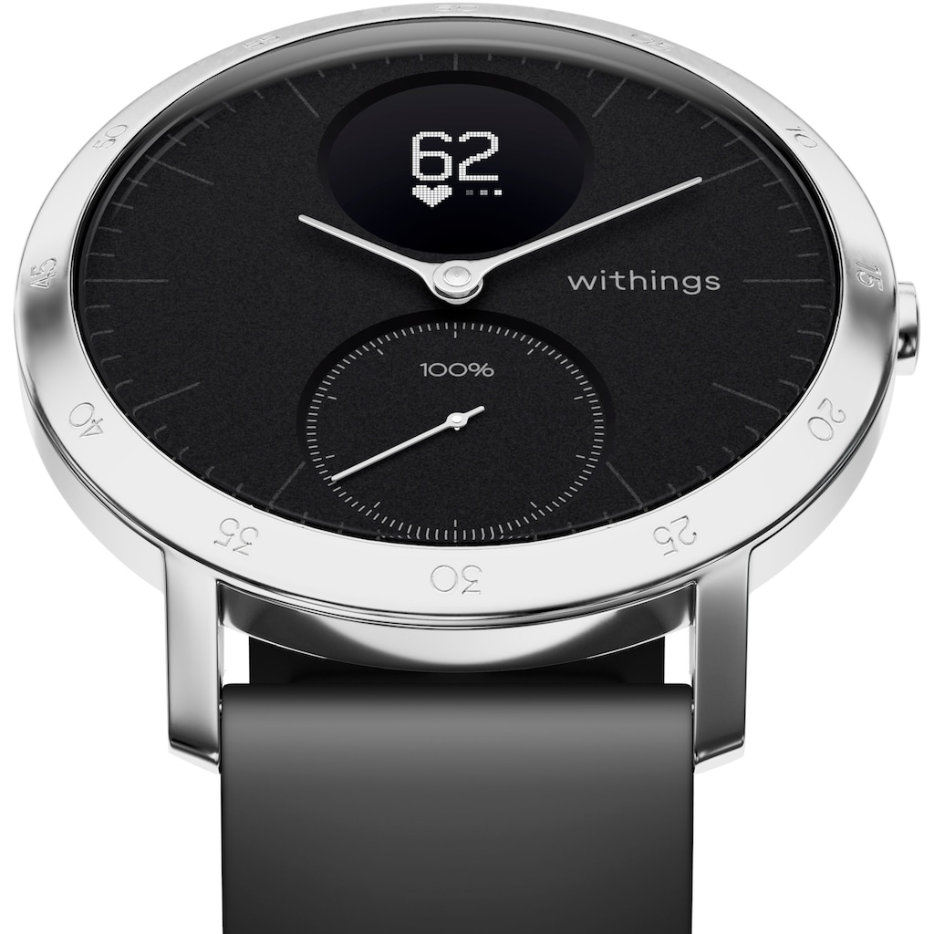 Withings Fitnessuhr »Activité STEEL HR (40 mm)«