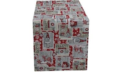 HOSSNER - HOMECOLLECTION Tischläufer »Imp«, (1 St.), mit Weihnachtsmotiv-Wichtel kaufen