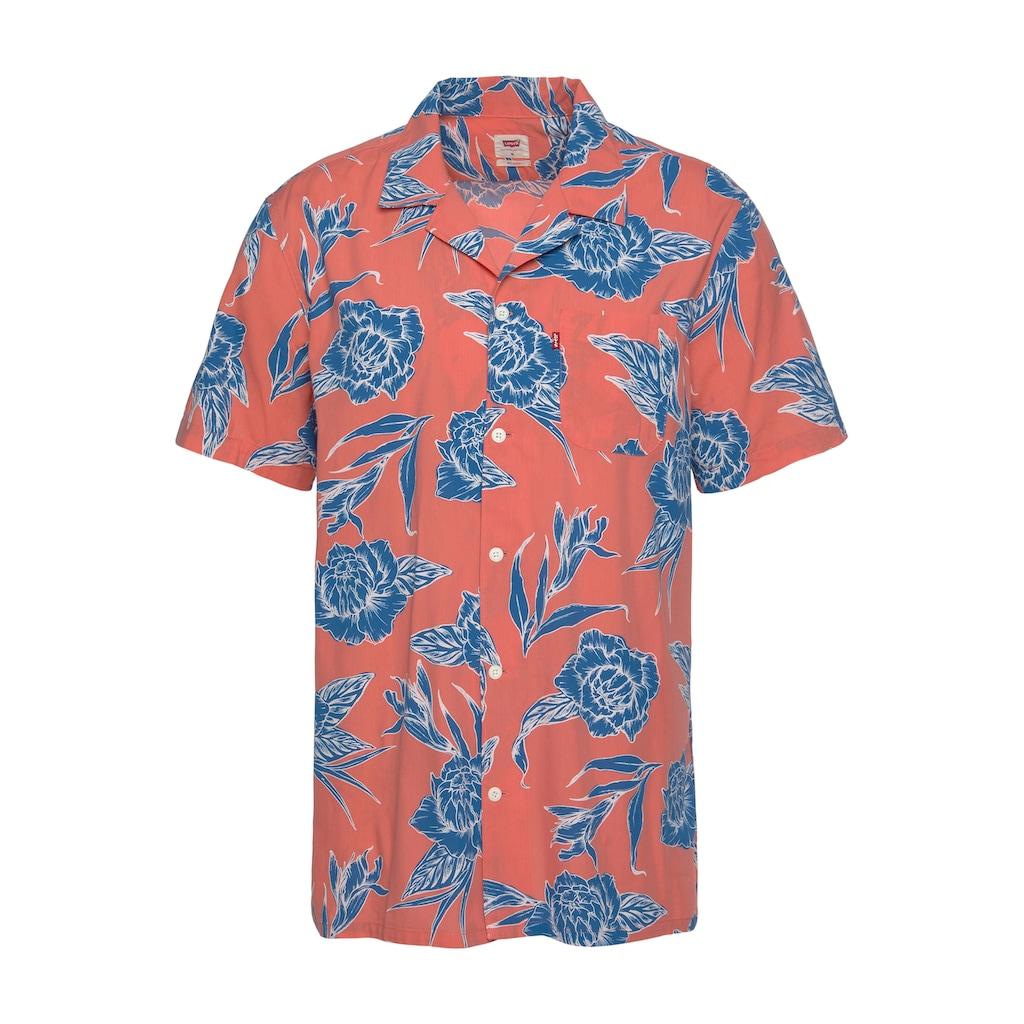 Levi's® Kurzarmhemd, mit sommerlichem Print