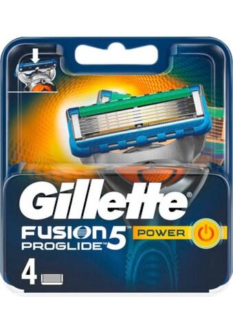 """Gillette Rasierklingen """"Fusion ProGlide Power"""", 4 - tlg. kaufen"""