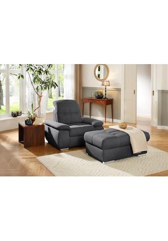 DELAVITA Hockerbank »Lotus Luxus«, mit besonders hohem Sitzkomfort, belastbar bis ca.... kaufen
