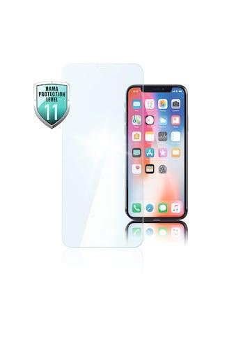 Hama Premium Displayschutz Panzerglas für Apple iPhone Xs Max »Smartphone Handy Schutzglas« kaufen