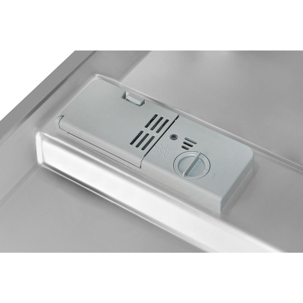 exquisit vollintegrierbarer Geschirrspüler »EGSP9313-EF-030E inox«, EGSP9313-EF-030E inox, 11 l, 13 Maßgedecke