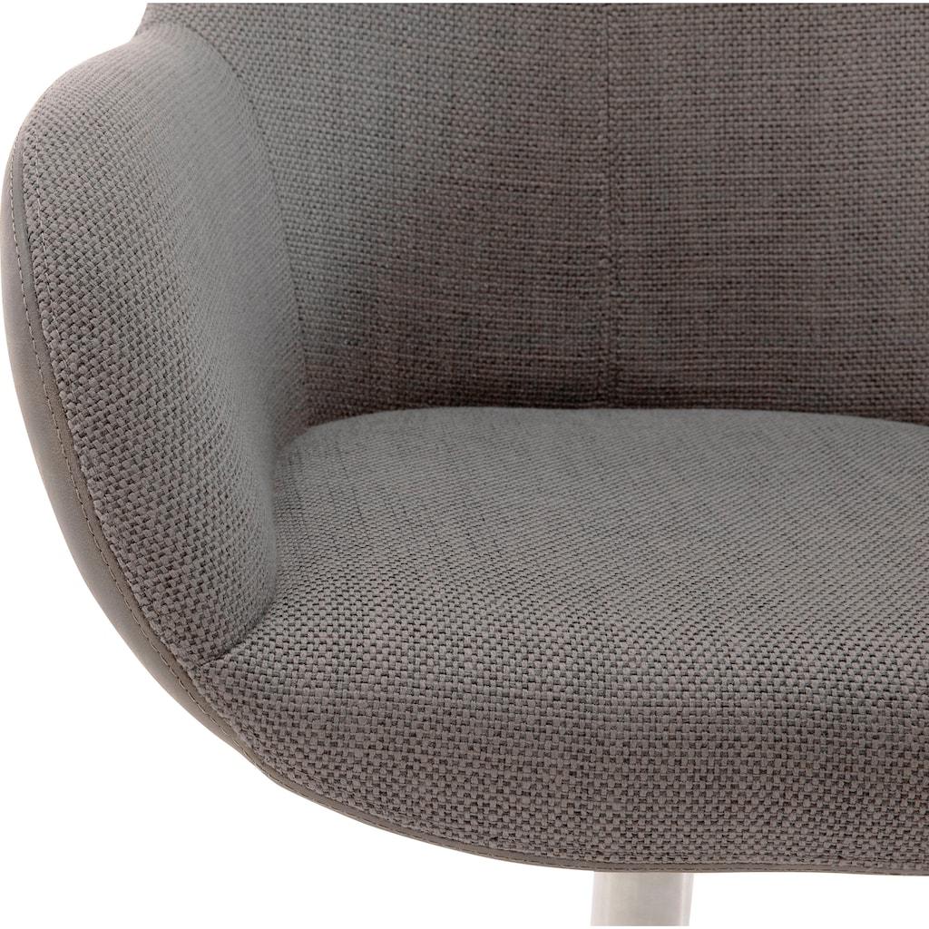 MCA furniture Esszimmerstuhl »Melrose«, Stuhl 360°drehbar mit Nivellierung