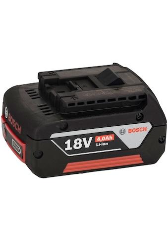 BOSCH Akku, 18 V/4,0 Ah Einschubakkupack (HD), Li-Ion, GBA M-C kaufen