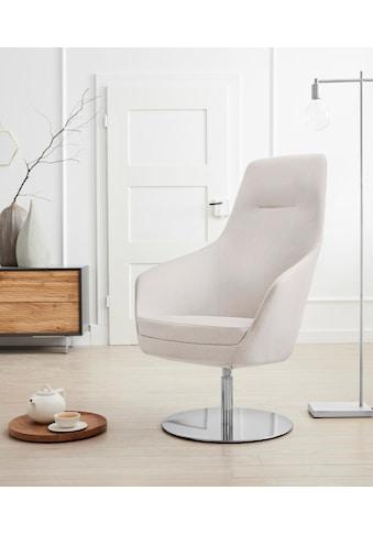 andas Drehstuhl »Rina«, mit Drehmechanik, auf rundem Fuß kaufen
