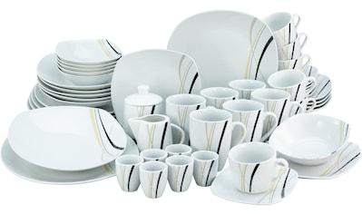 Home affaire Kombiservice »Deaton«, (Set, 50 tlg.), graphisches Dekor kaufen