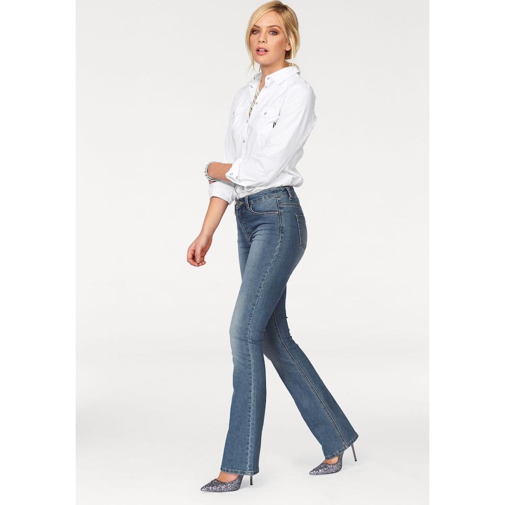 Arizona Bootcut-Jeans »Shaping«, High Waist