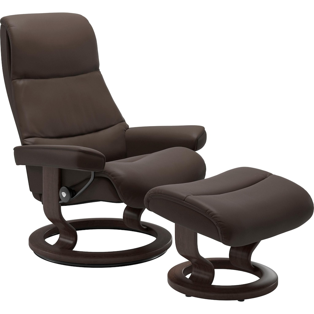 Stressless® Relaxsessel »View«, mit Classic Base, Größe L,Gestell Wenge