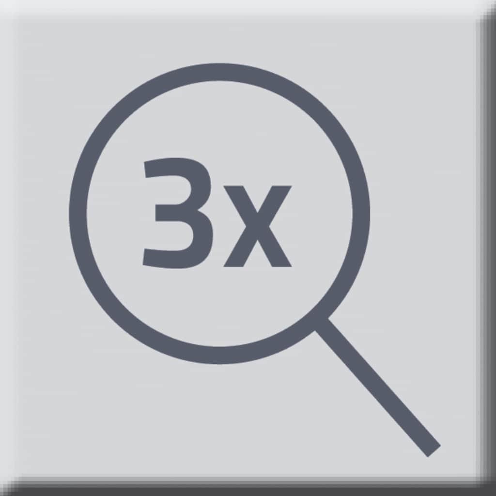 Ridder Kosmetikspiegel »Merida«, 3-fach Vergrößerung