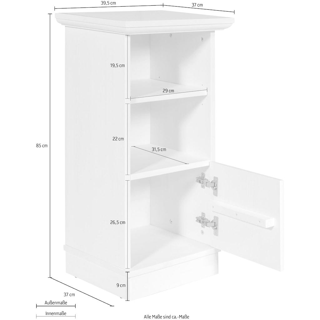 Home affaire Unterschrank »Eva«, aus Kiefer massiv, Höhe 85 cm