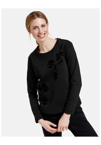 GERRY WEBER Langarmshirt »Langarmshirt mit Flockprint« kaufen