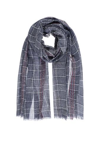 PASSIGATTI Schal, mit Karo Muster kaufen