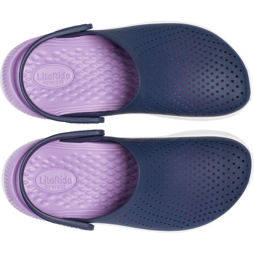 Crocs Clog »LiteRide Clog«, mit praktischem Fersenriemen