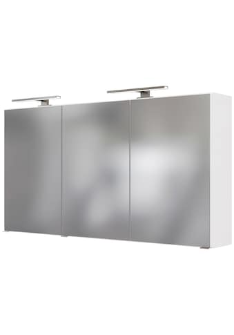 HELD MÖBEL Spiegelschrank »Matera«, Breite 120 cm, mit 6 verstellbaren Glasböden kaufen