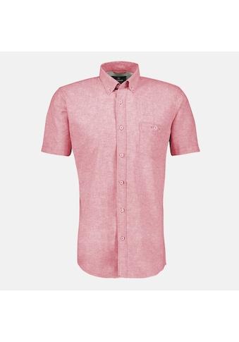 LERROS Kurzarmhemd, in verwaschener Melange-Qualität kaufen