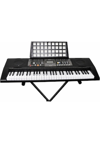 Clifton Keyboard »61-Tasten Keyboard mit LC-Display«, mit Ständer kaufen
