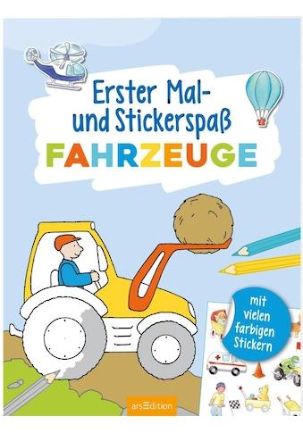 Buch Erster Mal -  und Stickerspaß Fahrzeuge / Corina Beurenmeister kaufen