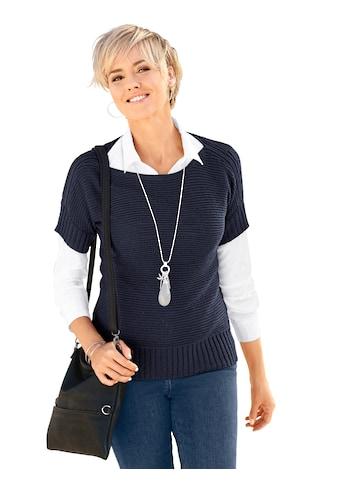 Classic Basics Kurzarmpullover »Pullover« kaufen