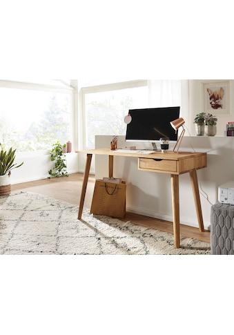 Premium collection by Home affaire Schreibtisch »Anton«, aus Massivholz, hochwertig... kaufen