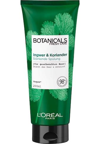 """BOTANICALS Haarspülung """"Ingwer und Koriander"""" kaufen"""