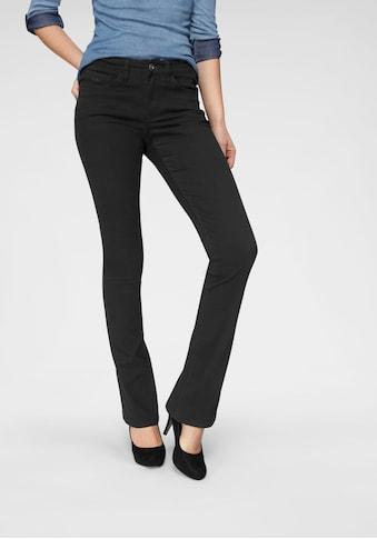 Arizona Bootcut-Jeans »Baby-Boot«, Mid Waist kaufen