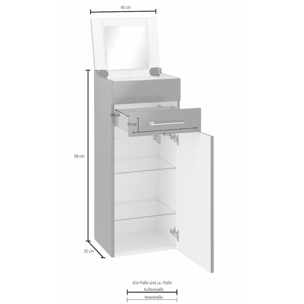 MARLIN Schminkschrank »Sola 3130«, Breite 40 cm, vormontiert