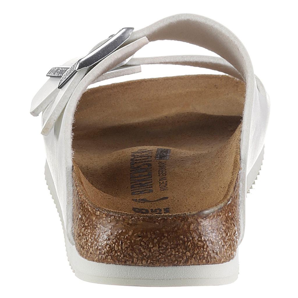 Birkenstock Berufsschuh »ARIZONA SL Pantolette«, mit öl- und fettbeständiger Grip-Laufsohle