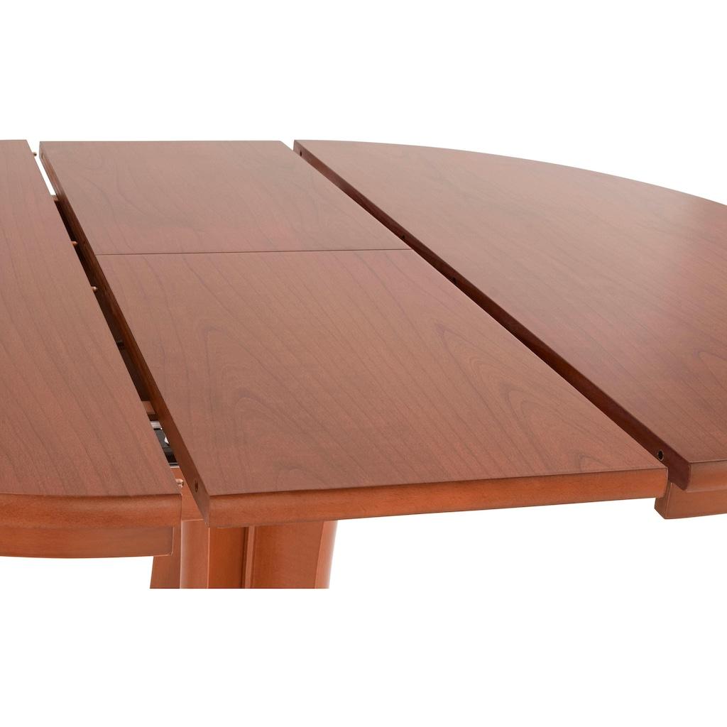 DELAVITA Esstisch »GERD 90«, Breite 90-120 cm