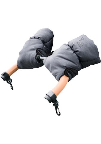 Heitmann Felle Kinderwagen-Handwärmer »Eisbärchen«, Handmuff für den Kinderwagen, praktische Druckknöpfe zur Befestigung, warm und weich kaufen