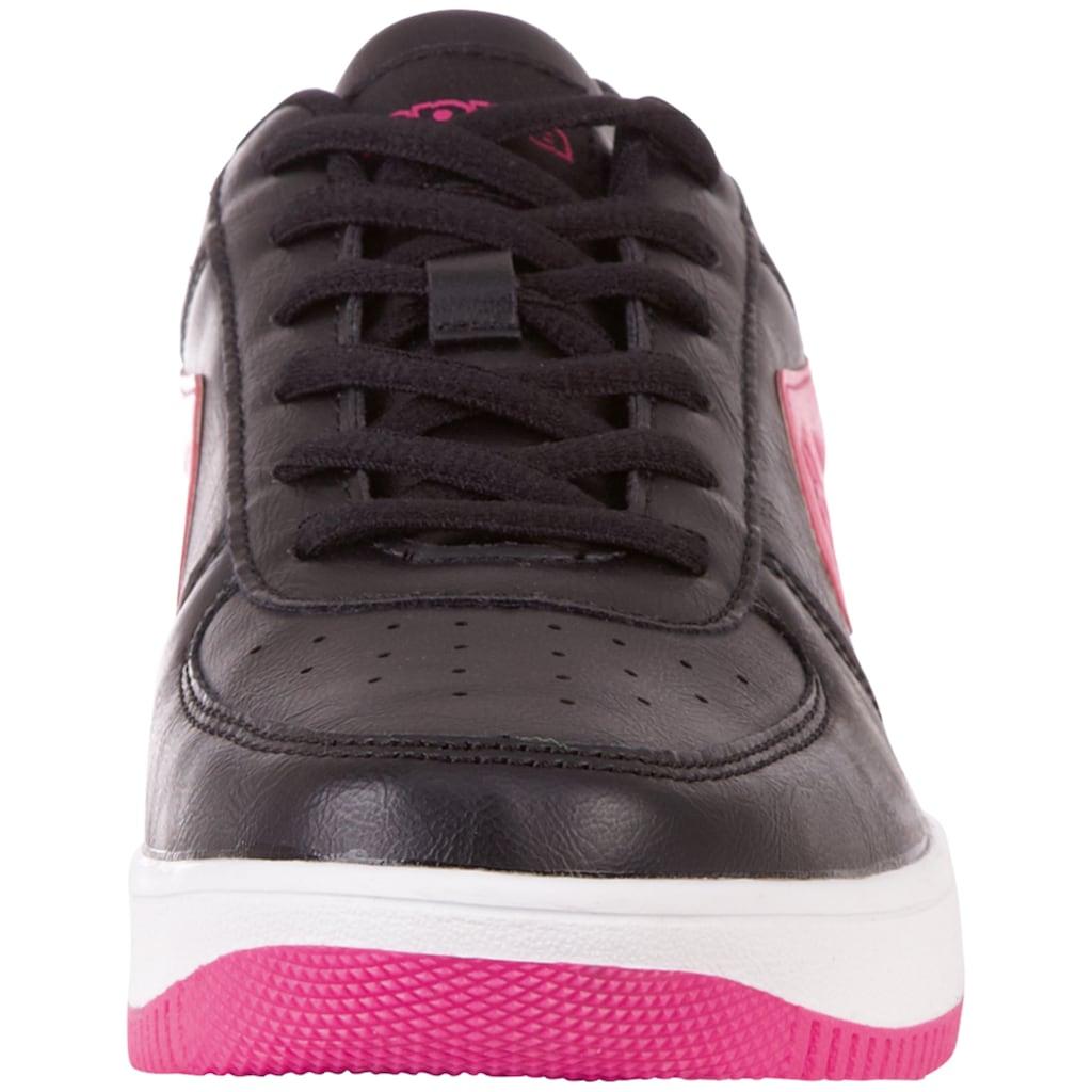 Kappa Sneaker »BASH PC«, mit zweifarbiger Sohle