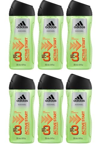 adidas Performance Duschgel »Active Start 3in1«, (Spar-Set, 6 tlg.), für Männer kaufen