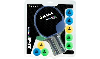 Joola Tischtennisschläger »Tischtennisschlägerset-Colorato«, (Set, 10 tlg.) kaufen