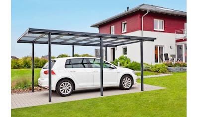 Beckmann Einzelcarport, Aluminium, 270 cm, anthrazit kaufen