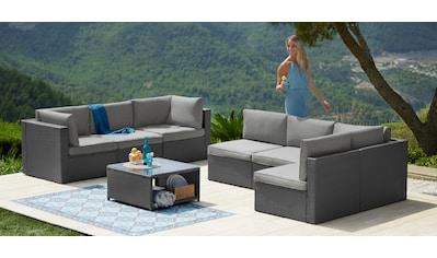 KONIFERA Loungeset »Malta«, (25 St.), Ecklounge, Sessel, Tisch 69x69 cm kaufen