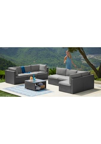 KONIFERA Loungeset »Malta«, (25 tlg.), Ecklounge, Sessel, Tisch 69x69 cm kaufen