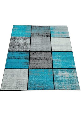 Paco Home Teppich »Mondial 102«, rechteckig, 14 mm Höhe, Kurzflor, Wohnzimmer kaufen