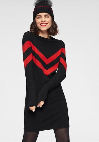 Tamaris Strickkleid, mit Streifen-Muster - NEUE KOLLEKTION kaufen