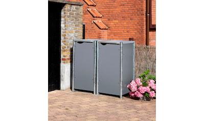 Hide Mülltonnenbox »Hide«, für 2 x 120 l, grau kaufen