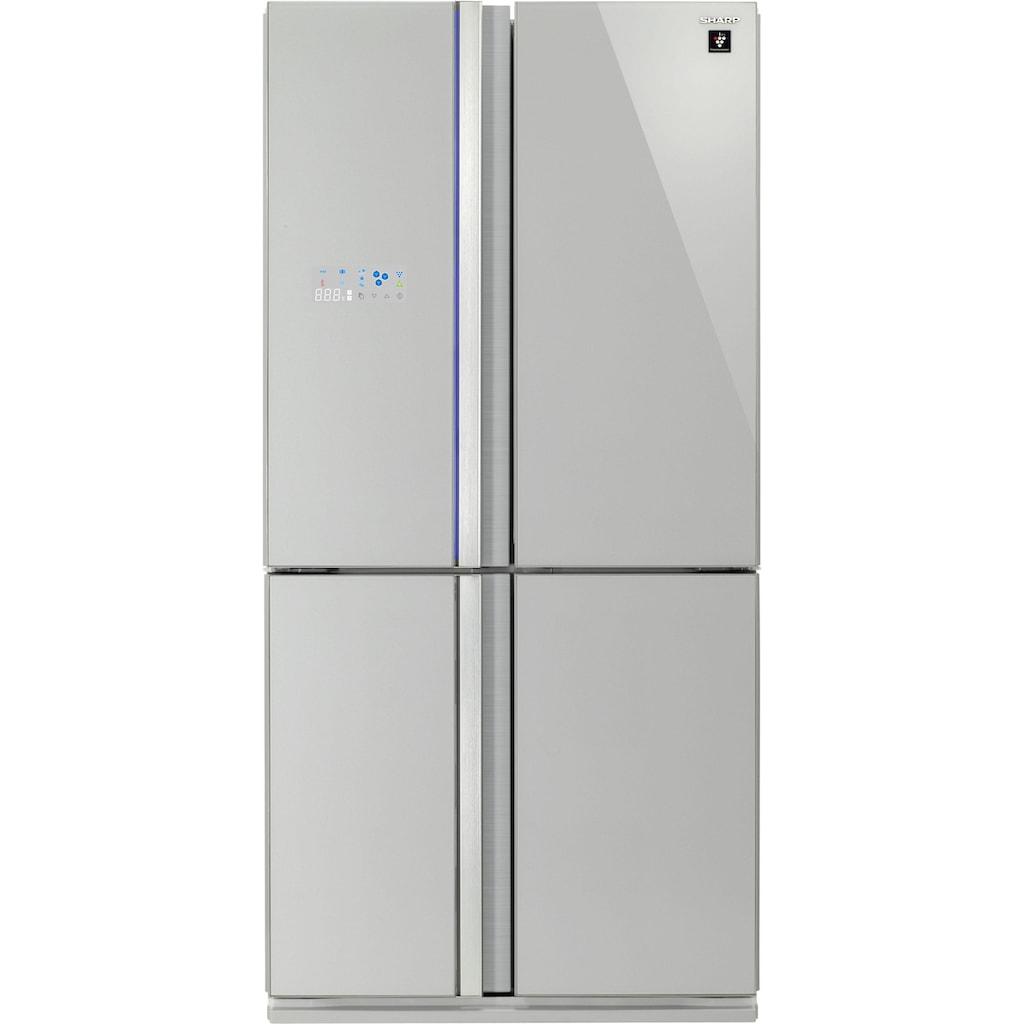 Sharp Multi Door »SJ-FS820«, SJ-FS820VSL, 183 cm hoch, 89,2 cm breit