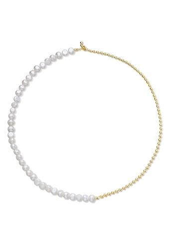 AILORIA Perlenkette »SAYO gold/weiße Perle«, 925 Sterling Silber vergoldet Süßwasserperle kaufen