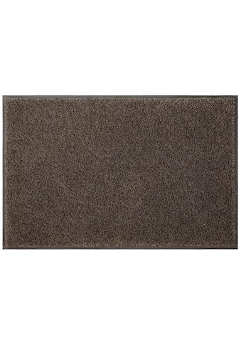 my home Fußmatte »Ember«, rechteckig, 9 mm Höhe, Schmutzfangmatte, In- und Outdoor... kaufen