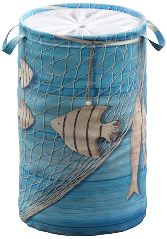 Sanilo Wäschekorb »Seefahrt«, 60 Liter, faltbar, mit Sichtschutz kaufen