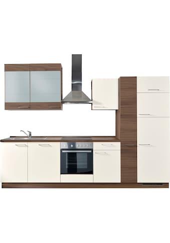 Express Küchen Küchenzeile »Trea«, ohne E-Geräte, vormontiert, mit Vollauszug und... kaufen