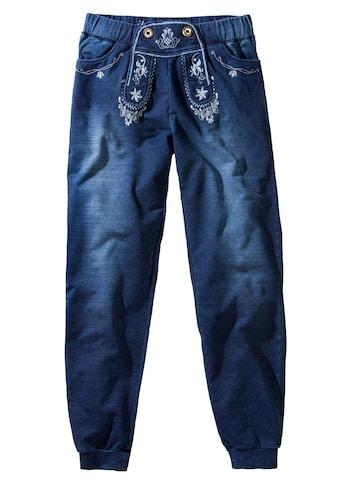 Stockerpoint Trachtenhose, Damen, mit besticktem Latz kaufen