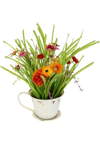 DELAVITA Kunstblume »Sylke«, in Pflanztasse aus Metall kaufen