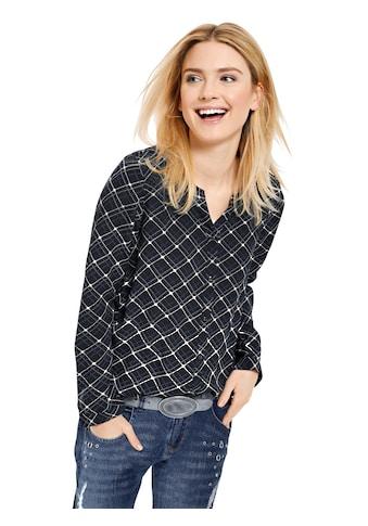 Classic Inspirationen Shirtbluse in außergewöhnlich schönem Karo - Dessin kaufen